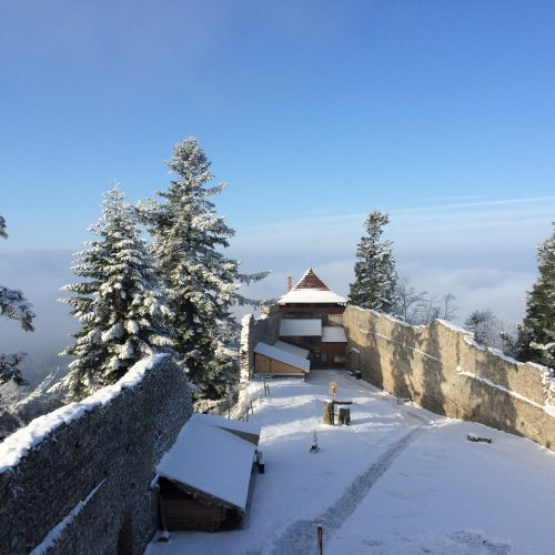 hrad kasperk zima