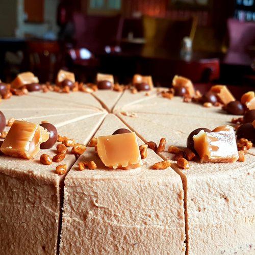 karamelovy dort