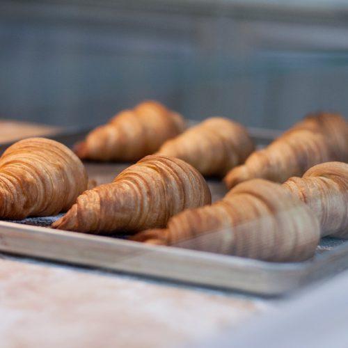 snídaně Nebespán roissanty