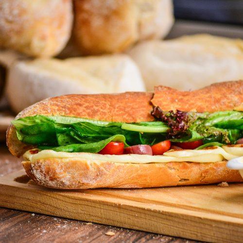 snídaně Nebespán sendvič