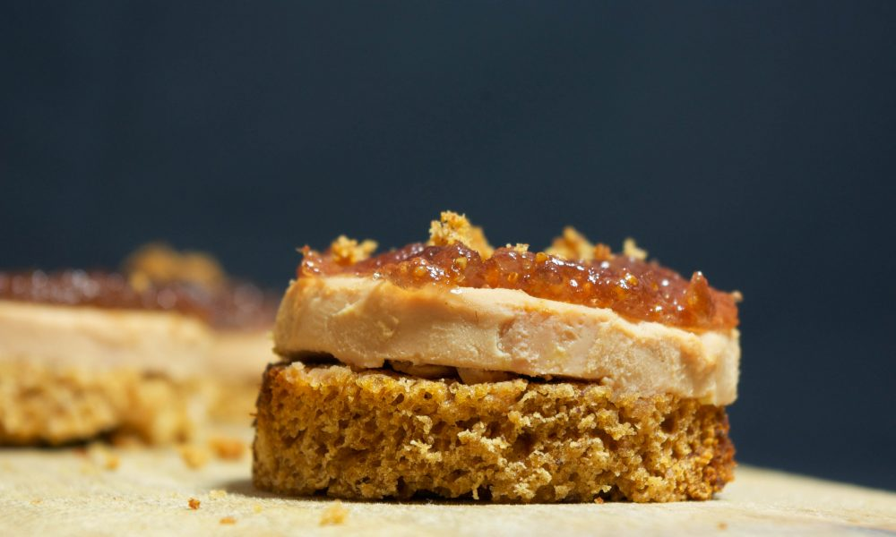 foie gras degustační menu
